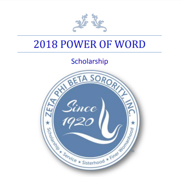 CLOSED 2018 Power of the Word Scholarship Application Open