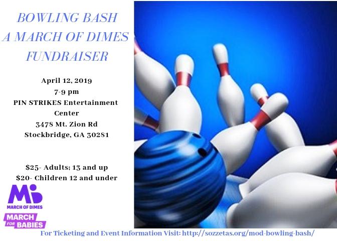 April 12, 2019: March of Dimes Bowling Bash
